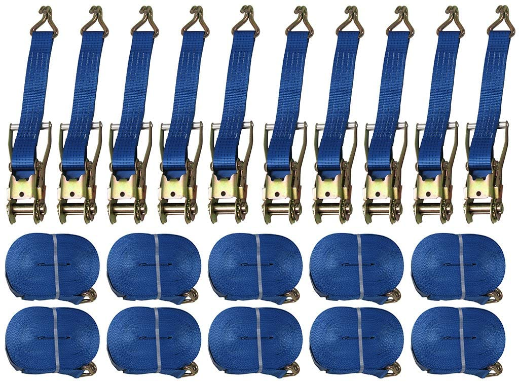 Ratchet Straps 8m -5 Tonne - Box of 10