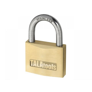 TALATools Heavy-Duty Brass Padlock 40mm