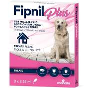 Fipnil Plus Spot-On Flea Treatment for Large Dogs 20-40kg - 3 Pack