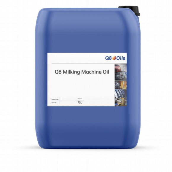 Q8 Milking Machine Oil (10 Liter)