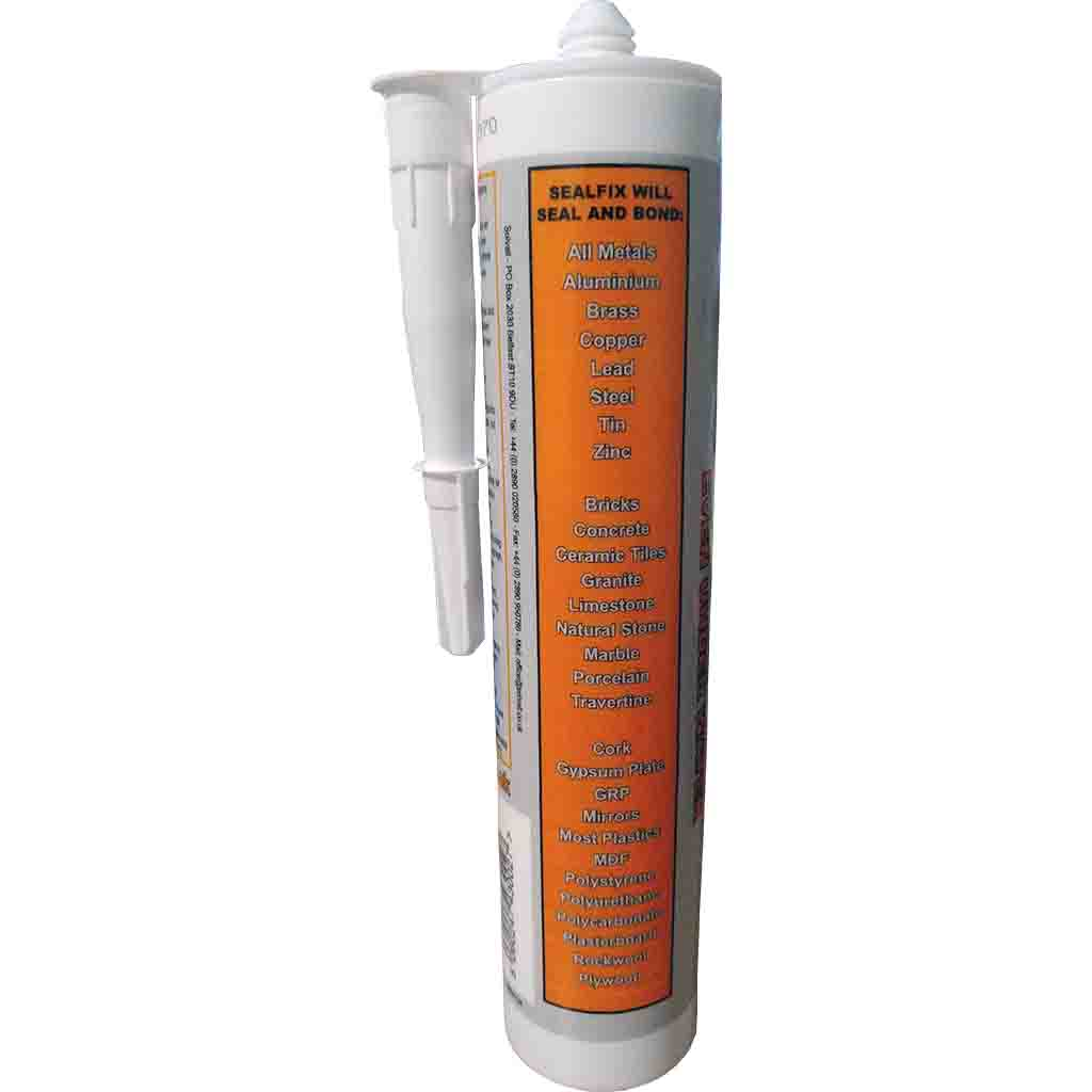 Sealfix White Silicone Sealant