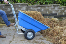 Load image into Gallery viewer, Rancher 260 Litre Galvanised Wheelbarrow