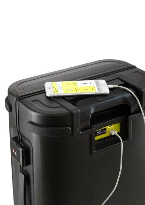 Aluminum Carry-On Suitcase Black - Samsara Luggage