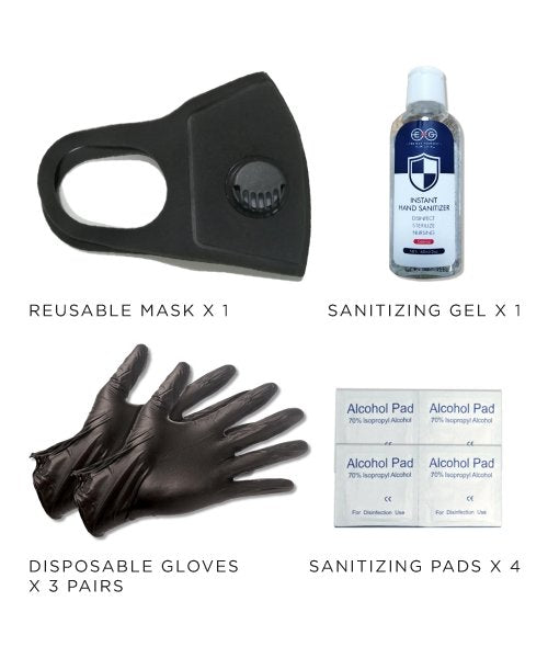 Bundle: 10 Essential Kits By Samsara - Samsara Luggage