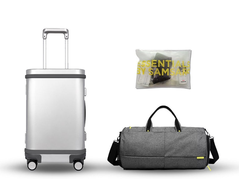 Holiday special: Aluminum suitcase + free Nano bag - Samsara Luggage