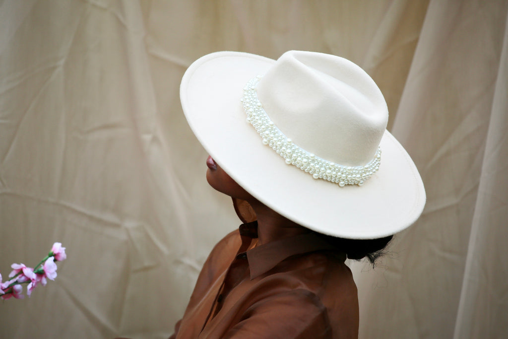 FASHIONISTA' WIDE BRIM PANAMA HAT