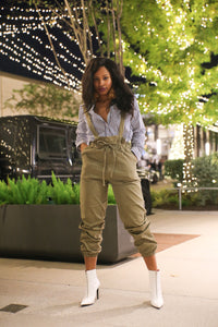 suspender OVERALL PANTS