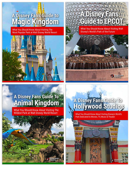 A Disney Fans Guide To Disney World - Buy All 4 Parks In One Guide and SAVE!