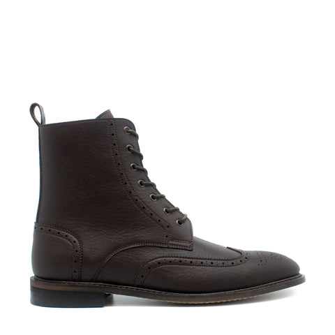 ALEX BROWN MAN VEGAN BROGUE WING TIP TOE BOOT
