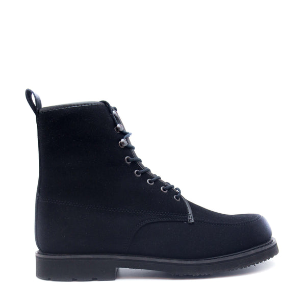 ANDRE BLACK SHORT BOOT WITH LACES