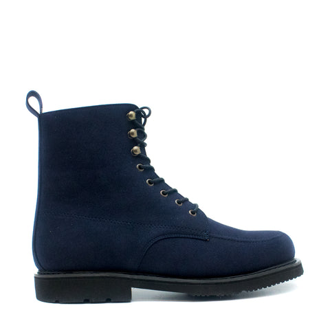 ANDRE BLUE SHORT BOOT WITH LACES