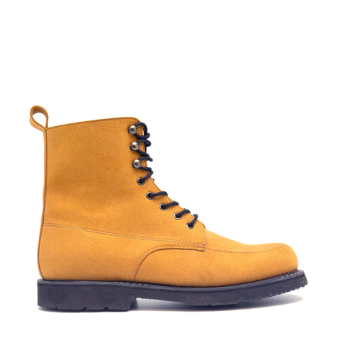 ANDRE CAMEL SHORT BOOT WITH LACES