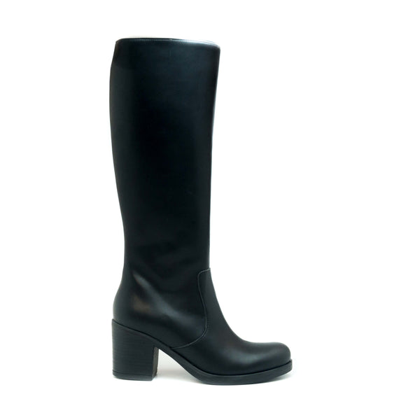 ANDREA BLACK KNEE HIGH BOOT