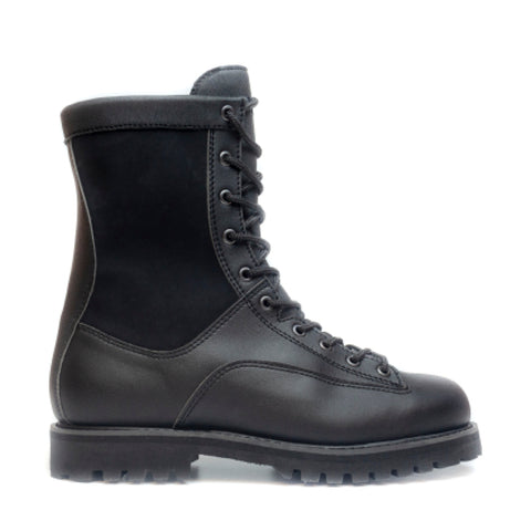ARCHIE BLACK BOOT WITH SYNTHETIC FUR