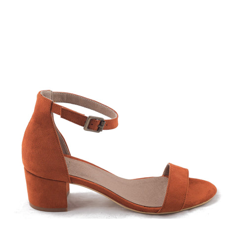Irene Orange Sandal