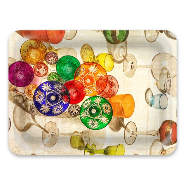 Coloured Glasses Print Tray