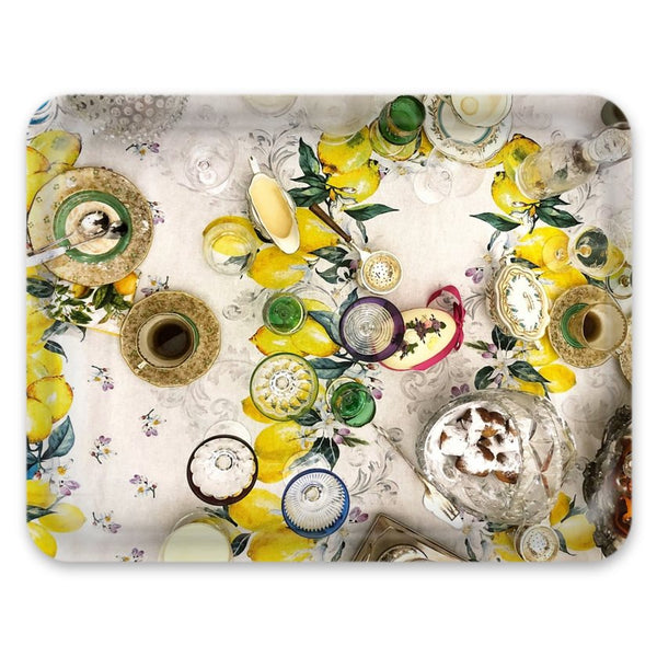 Lemon Print Tray