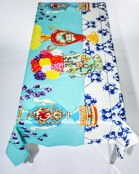 Vases Print TableCloth