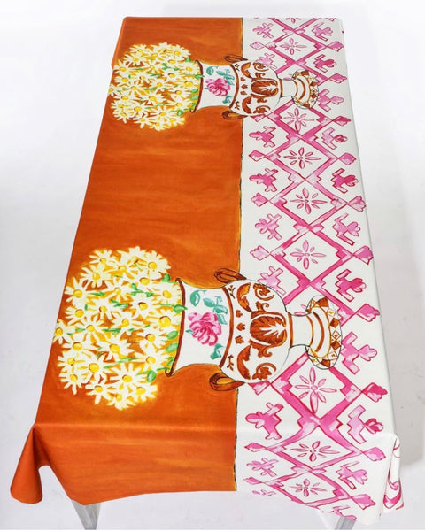 Daisies Print TableCloth