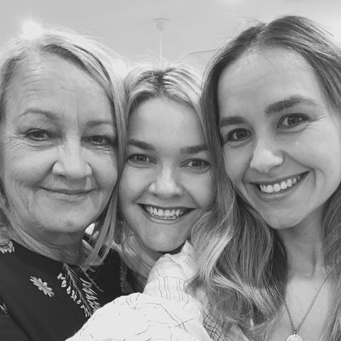 Mum, Sally and I
