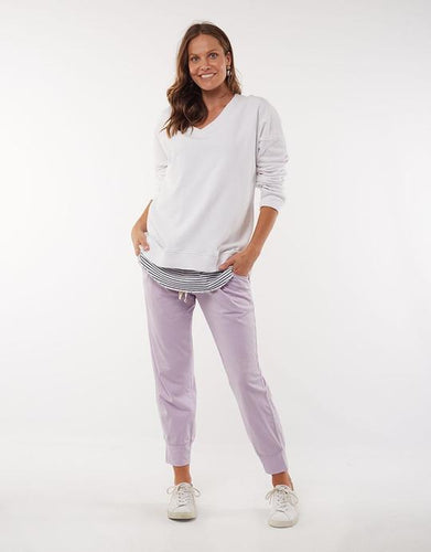 Wash Out Lounge Pant Purple