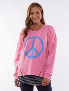 Love & Peace Crew Pink