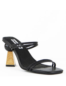 Trish Mule - Available in Black & Snake