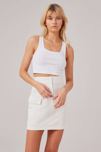 REVIVE SKIRT- Available in Pink & White