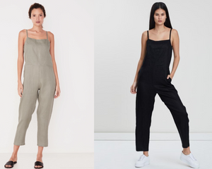 Pinafore Jumpsuit - Available in 2 Colours
