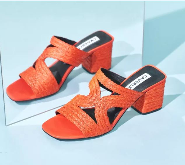 Bambi Mule - Available in Coral & Natural