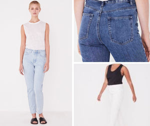High Waist Rigid Jean- Available in 3 Colours