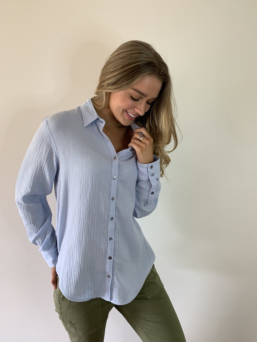 Charlie Shirt - Light Blue