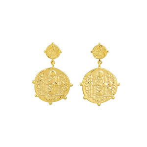 Marisa Earrings - Gold