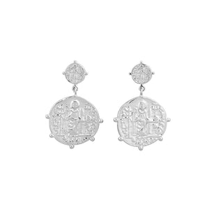 Marisa Earrings - Silver