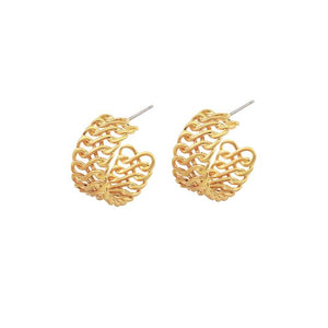 Rania Hoops - Gold