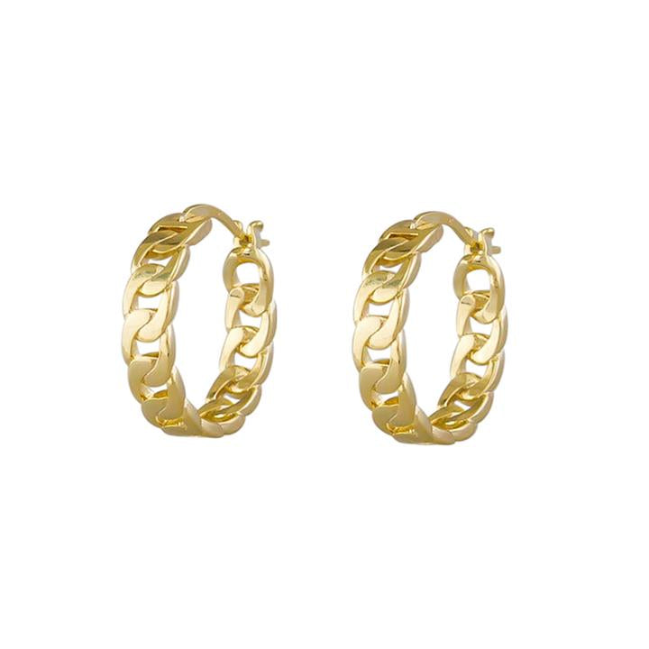 Adeline Hoops - Gold