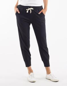 Black Wash Out Lounge Pant