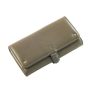Giselle Wallet - Available in Sage & Clay
