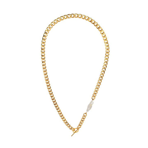 Augustina Necklace - Gold