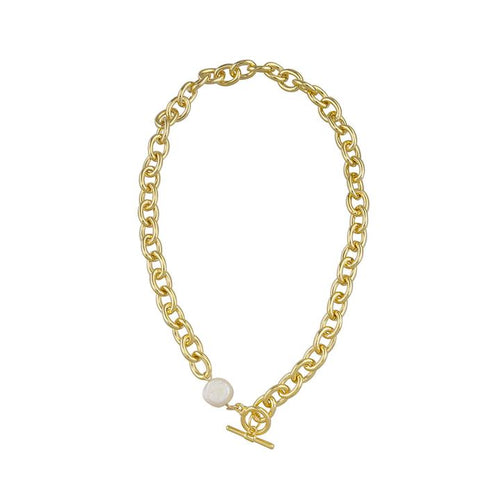 Vivian Necklace - Gold