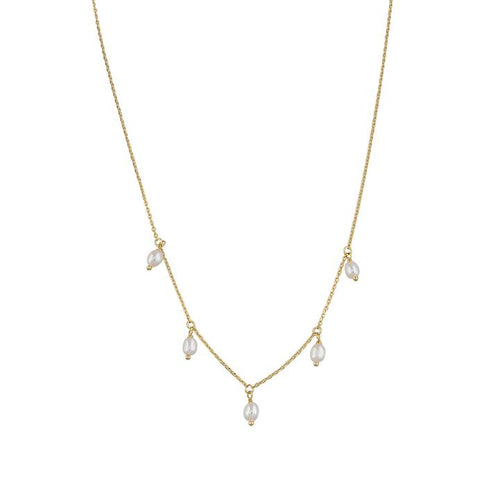 Alina Necklace - Gold