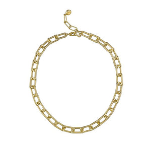 Jae Chain Link Necklace - Gold