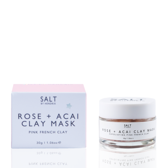 Rose + Acai Face Mask