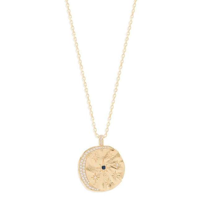 Gold Heavenly Moonlight Necklace