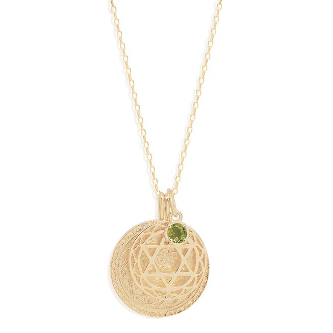 Heart Chakra Necklace Gold