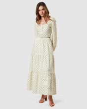 Willow Tiered Skirt Polka Dot