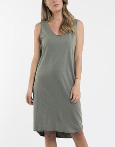 Argousey Tank Dress - Available in Khaki & Bronze
