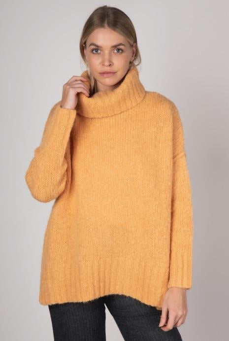 Comfort Roll-Neck Knit Bellini