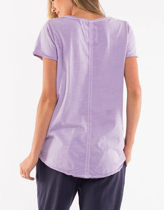 Fundamental Vee Tee Ice Lilac