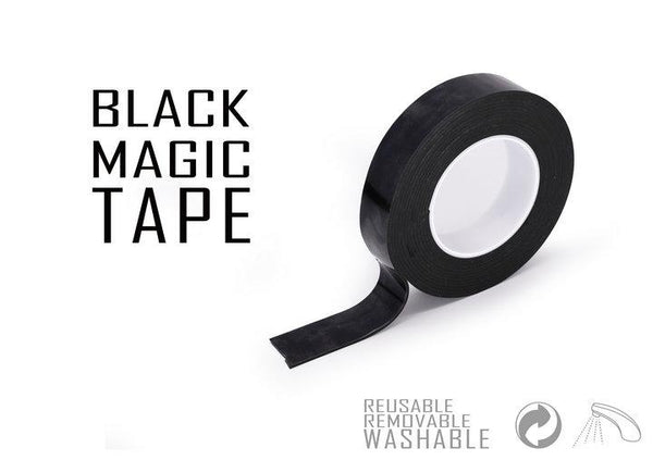 Magic black tape